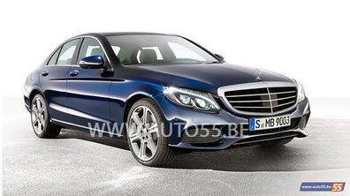 Future Mercedes-Benz Classe C 2014 : nouvelles photos scoop