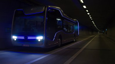 Vidéo : Le bus du futur selon Mercedes-Benz
