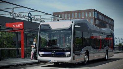 Mercedes-Benz Future Bus 2016 : le concept de bus semi-autonome