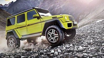 Mercedes-Benz G 500 4x4² 2015 : un show-car nommé plaisir