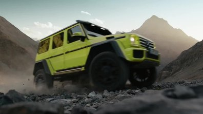 Mercedes–Benz G 500 4x4² 2015 : présentation officielle