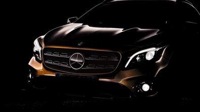 Salon de Détroit 2017 : le Mercedes-Benz GLA restylé en photo teaser
