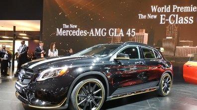 Salon de Detroit 2017 : Mercedes-Benz GLA restylé, jusqu'à 381 ch !