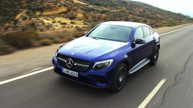 Mercedes-Benz GLC Coupé 2016 : présentation officielle