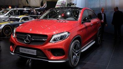 Salon de Genève 2015 : Mercedes-Benz GLE 450 AMG, le culturiste en jogging