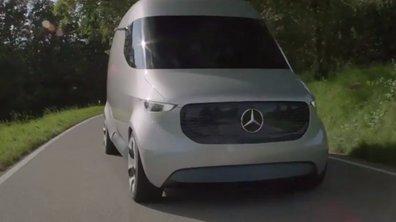Mercedes-Benz Vision Van Concept 2016 : présentation officielle