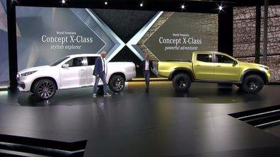 Mercedes-Benz Classe X Concept 2016 :  un double avant-goût du futur pick-up