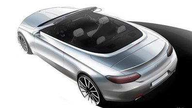 Mercedes Classe C : la version Cabriolet teasée avant le Salon de Genève