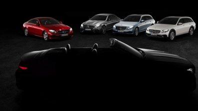 Salon de Genève 2017 : Mercedes teaser la Classe E Cabriolet