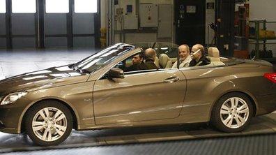 Mercedes Classe E Cabriolet : les premières photos