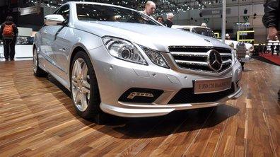 Mercedes : baisse des ventes significative en mars 2009