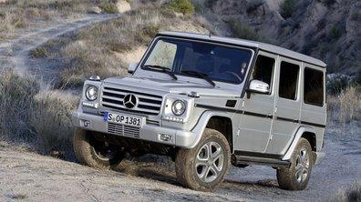 Mercedes Glasse G 2012 : diodes et nouvel intérieur