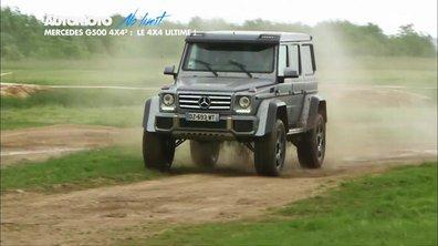 No Limit : Mercedes Classe G 4x4, au carré !