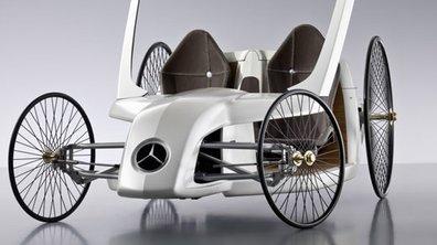 Mercedes F-CELL Roadster : quand le passé se mêle au présent