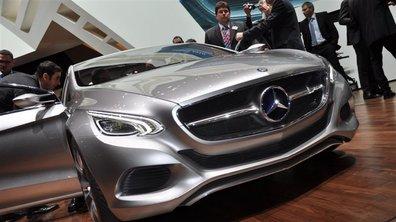 Salon de Genève 2010 : Mercedes F800