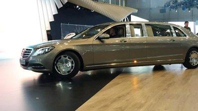 Salon de Genève 2015 : Mercedes-Maybach Pullman, le paquebot de luxe allemand