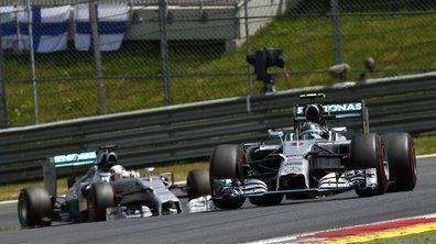 F1 - Essais 1 Silverstone 2014 : Rosberg et Hamilton en tête