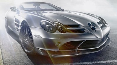 Mercedes SLR 722 S : Le cabriolet puissance 10