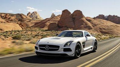 Mercedes SLS AMG Black Series 2013 : entre route et circuit