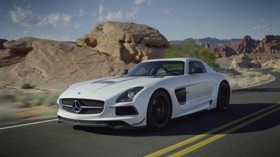 Vidéo : Mercedes SLS AMG Black Series en mouvement