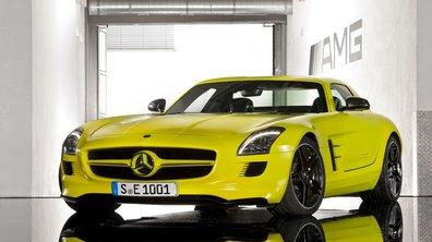 Mercedes SLS AMG E-Cell Prototype : l'anti-Audi e-tron