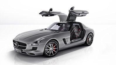 Mercedes SLS AMG GT : 591 chevaux au compteur
