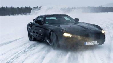 Mercedes SLS AMG : le supercar en mode électrique ?!