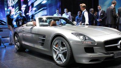 Salon de Francfort 2011 : Mercedes SLS AMG Roadster