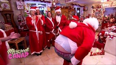 Mercredi Canap : père Noël en Harley ou le cul à l'air, la magie opère toujours