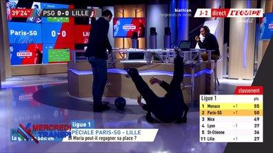 Mercredi transpi : quand t'as pas les droits du PSG / Lille...