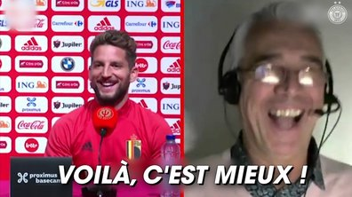 VIDEO – Mertens trolle un journaliste par Facetime