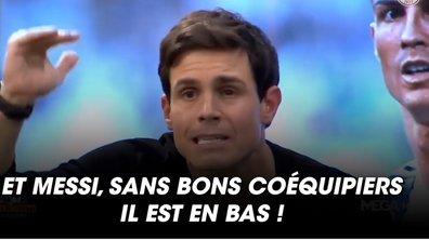 """VIDEO - Les retrouvailles entre Messi et CR7 relance le débat du """"GOAT"""""""