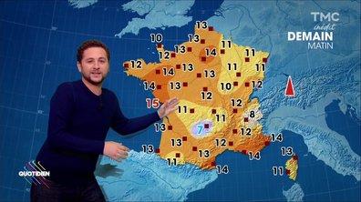 La météo du 11 Octobre par Azzeddine Ahmed-Chaouch