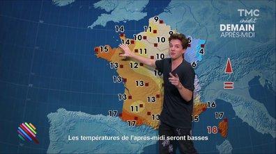 La météo du 12 décembre par Charlie Puth
