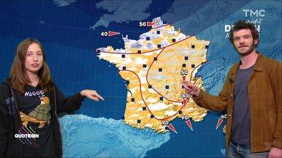 La météo du 14 novembre par Félix Moati et Nils Othenin-Girard