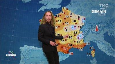La météo du 17 octobre avec Julien Doré
