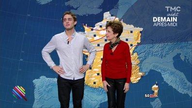 La météo du 2 janvier est présentée par Benjamin Siksou