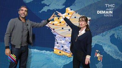 La météo du 2 janvier par Ary Abittan et Chantal Lauby
