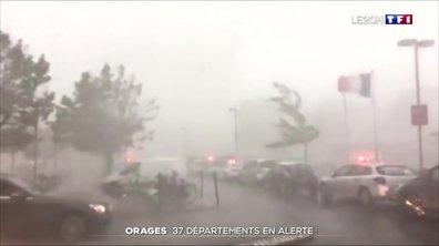Météo : alerte aux orages dans 37 départements