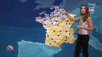 La météo du 6 janvier par Iris Mittenaere, Miss France 2016