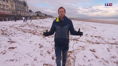 Météo : la Normandie sous la neige