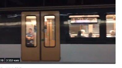 France-Belgique : la société de transport bruxelloise perd son pari contre la RATP et diffuse du Johnny dans le métro