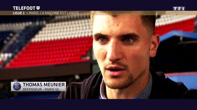 """[EXCLU Téléfoot 17/09] - PSG / Meunier : """"On a vraiment tout en main pour exploser le championnat"""""""