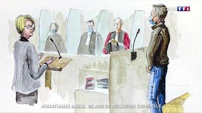 Meurtre d'Alexia :  Jonathann Daval condamné à 25 ans de réclusion criminelle