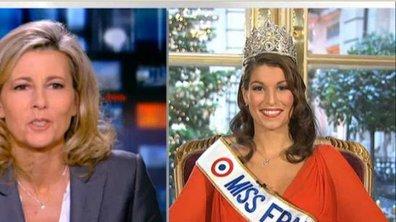 Miss France 2011 répond aux questions de Claire Chazal