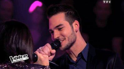 The Voice: le vainqueur de la battle entre Michaël Lelong et Alexandra Lucci est....Michaël Lelong!