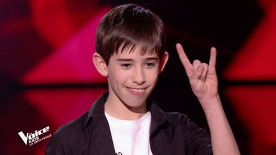 The Voice Kids : Michel chante « We will rock you » de Queen (Team Patrick Fiori)