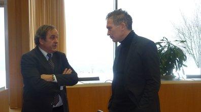 Michel Platini dans Téléfoot ce dimanche !