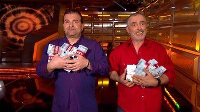 """Michel et Stéphane remportent 120 000 euros """"On est venus à vide, on repart à plein !"""""""