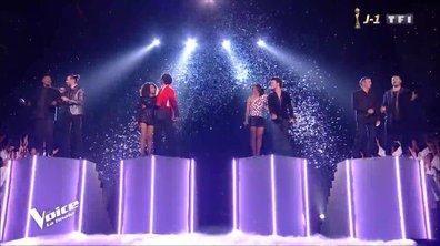 Mika, Jenifer, Soprano, Julien Clerc et les 4 finalistes « Celui qui chante » (Michel Berger) - Finale 2019